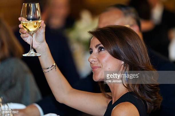 Princess Marie of Denmark attends the international food summit 'Better Food For More People' opening ceremony and gala dinner at Copenhagen City...