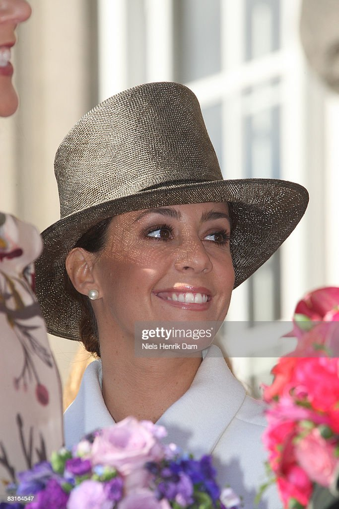 Princess Marie of Denmark attends the opening of the Folketingets parliamentary session at Christiansborg Castle on October 7, 2008 in Copenhagen, Denmark.