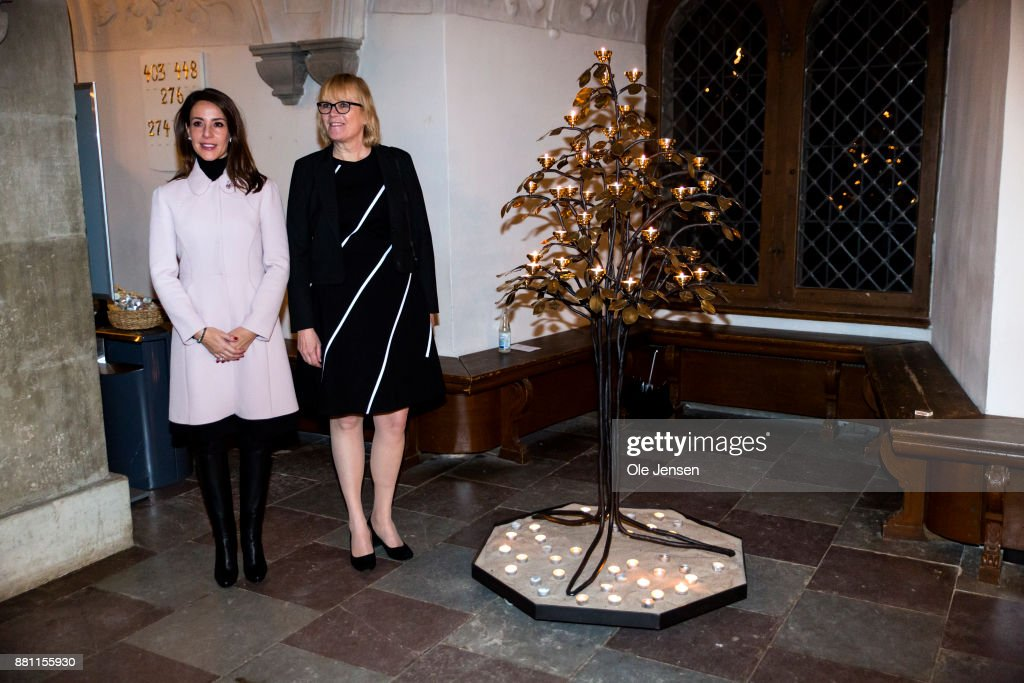 Princess Marie Of Denmark Participates In Dan Church's Christmas Event For The World's Poorest