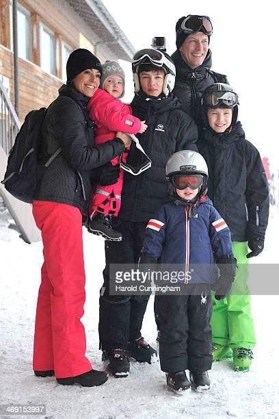 Princess Marie of Denmark Princess Athena of Denmark Prince Nikolai of Denmark Prince Joachim of Denmark Prince Felix of Denmark and Prince Henrik of...