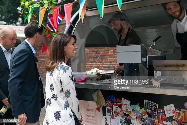 Princess Marie visits as protector for Copenhagen Food and Cooking Festival together with husband Prince Joachim who is protector of development...