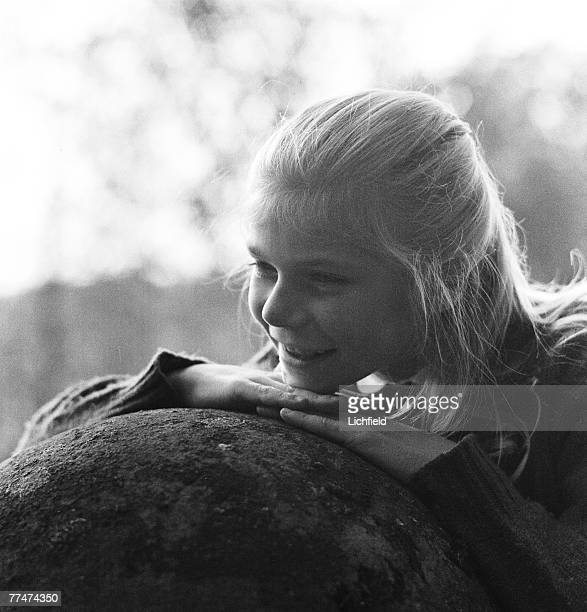 Princess MarieAstrid of Luxembourg at home in the grounds of the Grand Ducal Palace on 12th October 1964