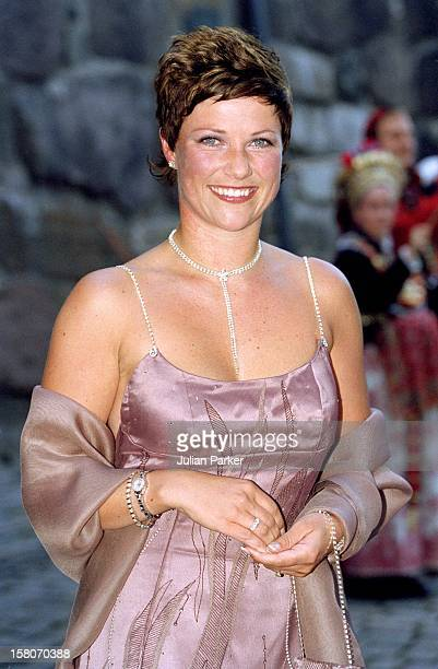 Princess Martha Louise Attends A Gala Dinner At Akershus Castle On The Evening Before The Wedding Of Crown Prince Haakon MetteMarit
