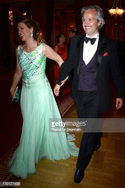 Princess Martha Louise of Norway and Ari Mikael Behn attend a private dinner on the eve of the wedding of Princess Madeleine and Christopher O'Neill...