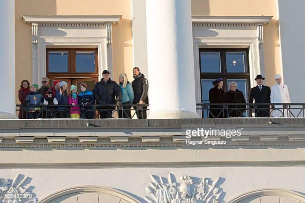 Princess Martha Louise of Norway and husband Ari Behn Prince Sverre Magnus of Norway Emma Tallulah Behn Queen Sonja of Norway Princess Ingrid...