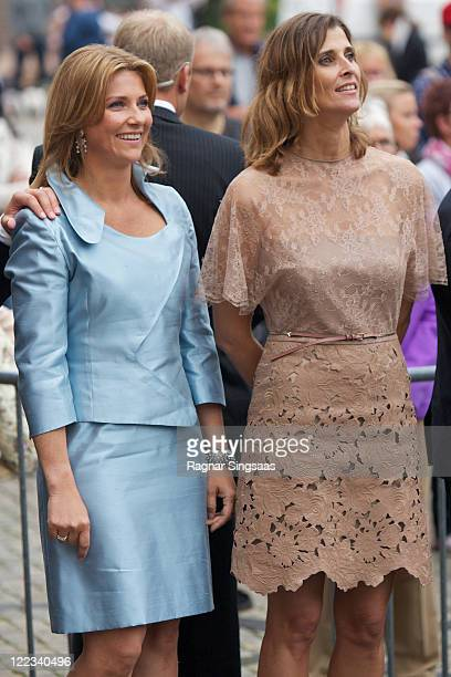 Princess Martha Louise of Norway and Princess Rosario of Bulgaria attend The Crown Prince and Crown Princess Fund on the occasion of Crown Prince...