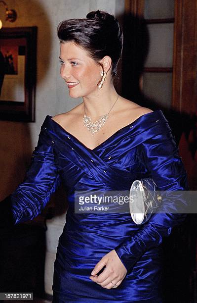 Princess Martha Louise Of Norway Attends A Performance At The Stockholm Opera House During The Celebrations For King Carl Gustav Of Sweden'S 50Th...