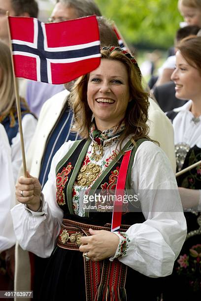 Princess Martha Louise of Norway attends celebrations for Norway National day in Southwark Park on May 17 2014 in London United Kingdom