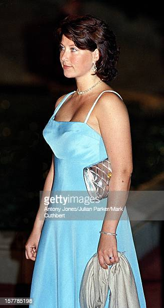 Princess Martha Louise Of Norway Attends The Gala Dinner At The Ceno Palacio On The Eve Of The Wedding Of Infanta Cristina Of Spain And Inaki...