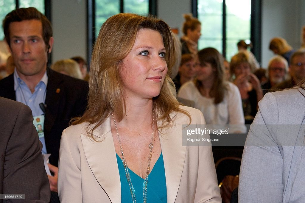 Princess Martha Louise of Norway attends The Launch Of The Unicef report 'State Of The world's Children' on May 30, 2013 in Oslo, Norway.