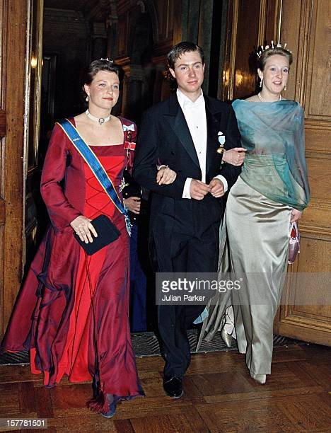 Princess Martha Louise Of Norway Princess Alexandra Berleburg During The Celebrations For King Carl Gustav Of Sweden'S 50Th Birthday