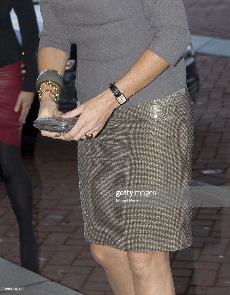 Princess Maxima of the Netherlands (detail) arrives to award the Prince Bernhard Culture Prize on November 26, 2012 in Amsterdam, Netherlands.