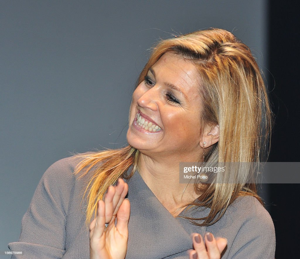Princess Maxima of the Netherlands during the award ceremony of the Prince Bernhard Culture Prize (pool) on November 26, 2012 in Amsterdam, Netherlands.