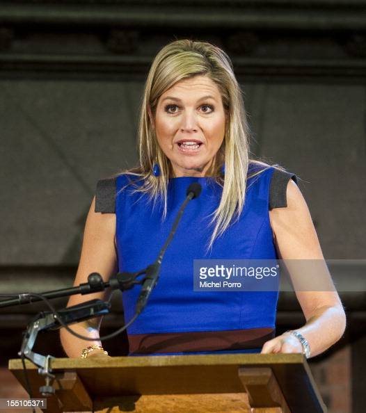 princess maxima of the netherlands attends conference for international food stability photos. Black Bedroom Furniture Sets. Home Design Ideas
