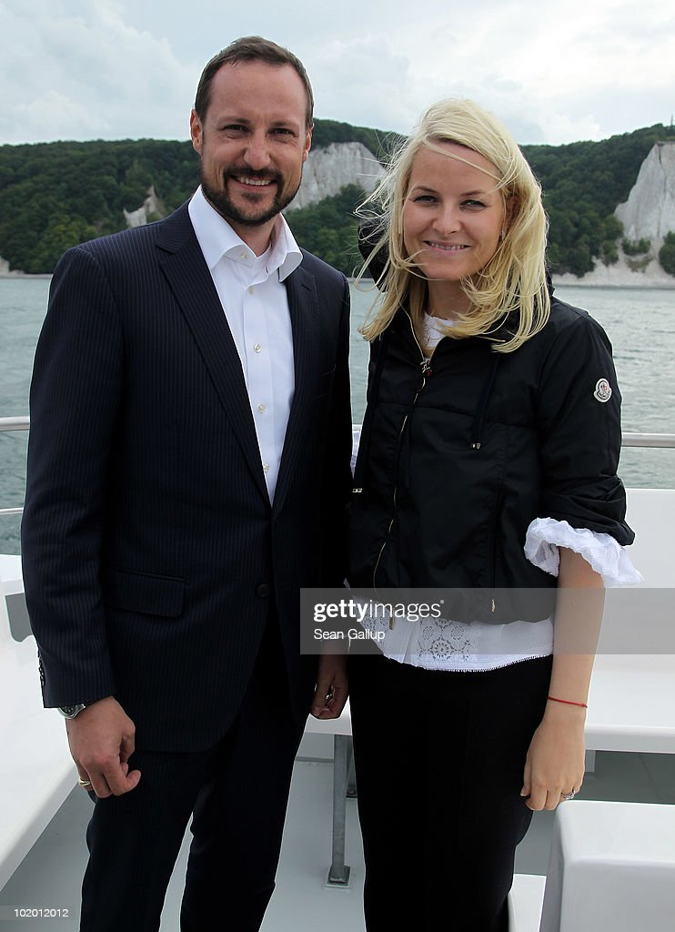 Princess Mette-Marit and Prince Haakon of Norway Visit Northern Germany