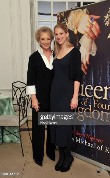 Princess Michael Of Kent and Lady Gabriella Windsor attend the book launch party for 'The Queen Of Four Kingdoms' by Princess Michael of Kent at The...
