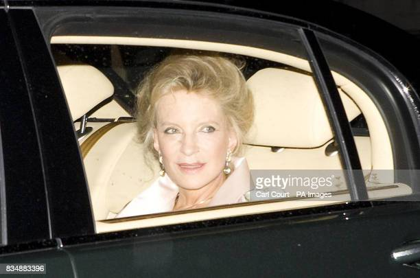 Princess Michael of Kent arrives at Buckingham Palace in London to attend a private reception and concert as part of The Prince of Wales' 60th...