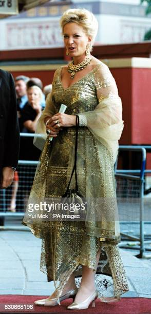 Princess Michael of Kent arriving to see Spanish opera star Monserrat Caballe Michael Ball and Bolshoi ballerina Anastacia Volochkova star in...