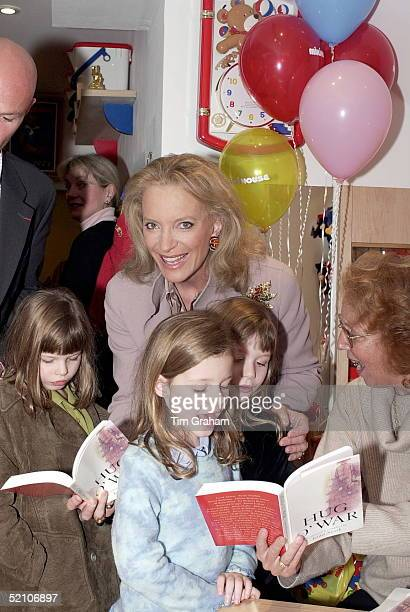 Princess Michael Of Kent Attending The Book Launch At Miki House Children's Store In London Of 'hug O'war' To Raise Funds For Children In Kosovo With...