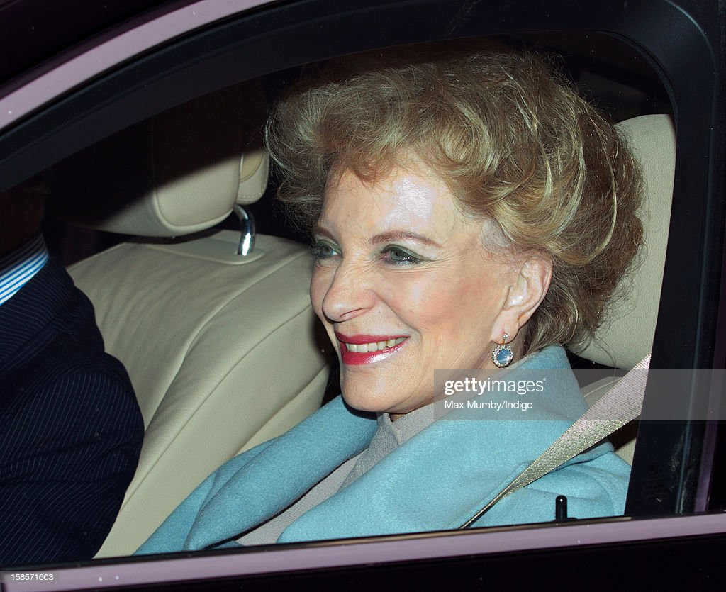 Princess Michael of Kent attends a Christmas lunch for members of the Royal Family hosted by Queen Elizabeth II at Buckingham Palace on December 19, 2012 in London, England.