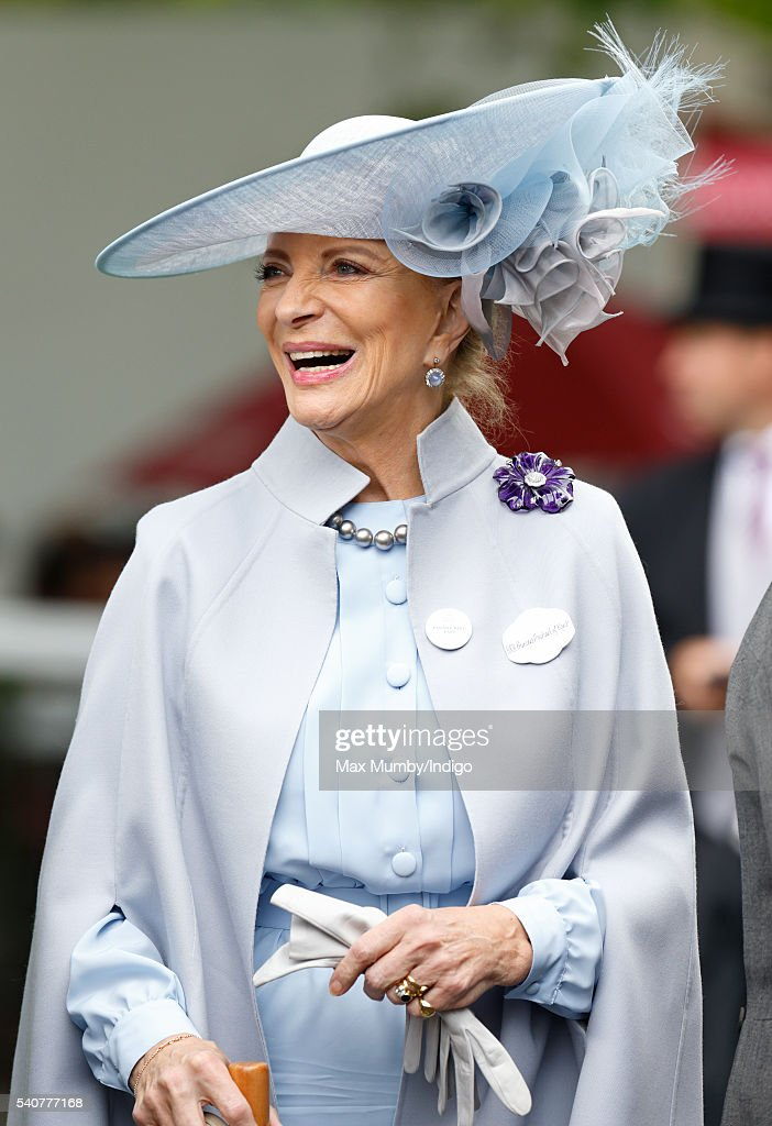 Princess Michael of Kent attends day 3 'Ladies Day' of Royal Ascot at Ascot Racecourse on June 16 2016 in Ascot England