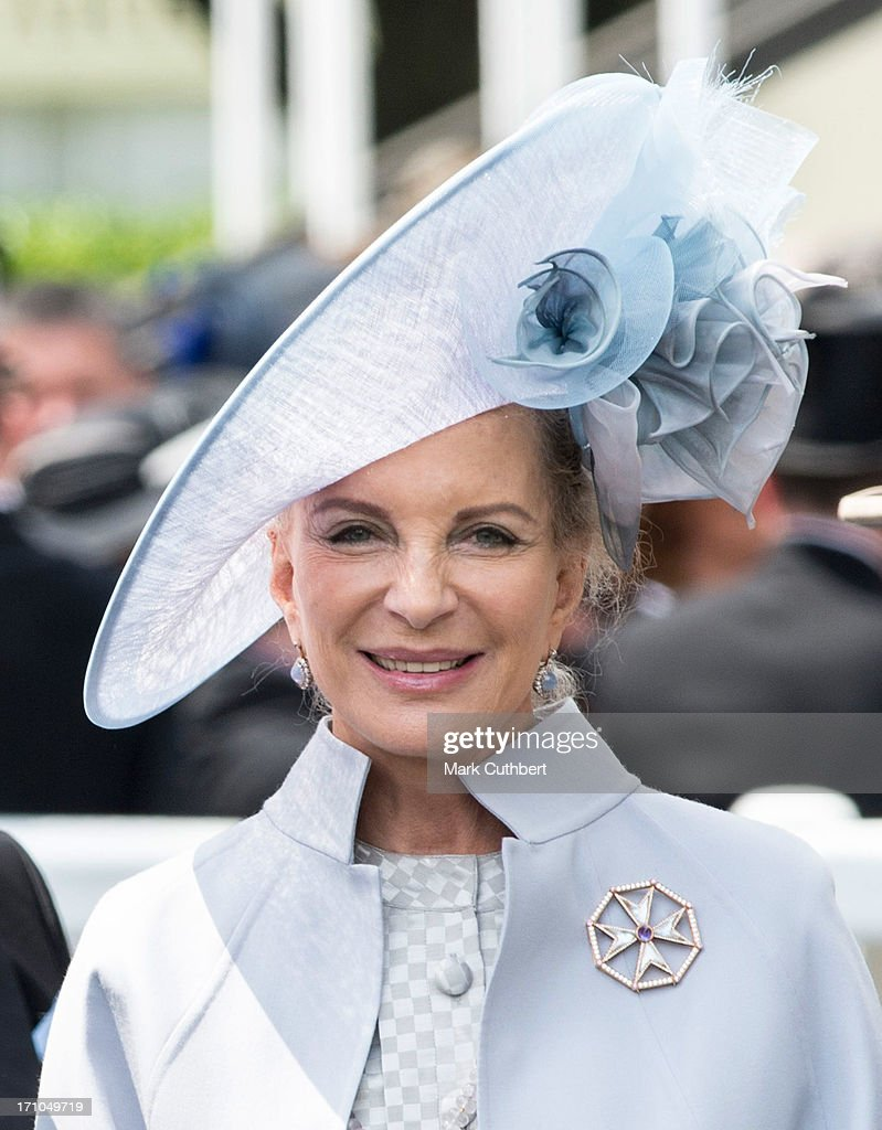Princess Michael of Kent attends Day 4 of Royal Ascot at Ascot Racecourse on June 21, 2013 in Ascot, England.