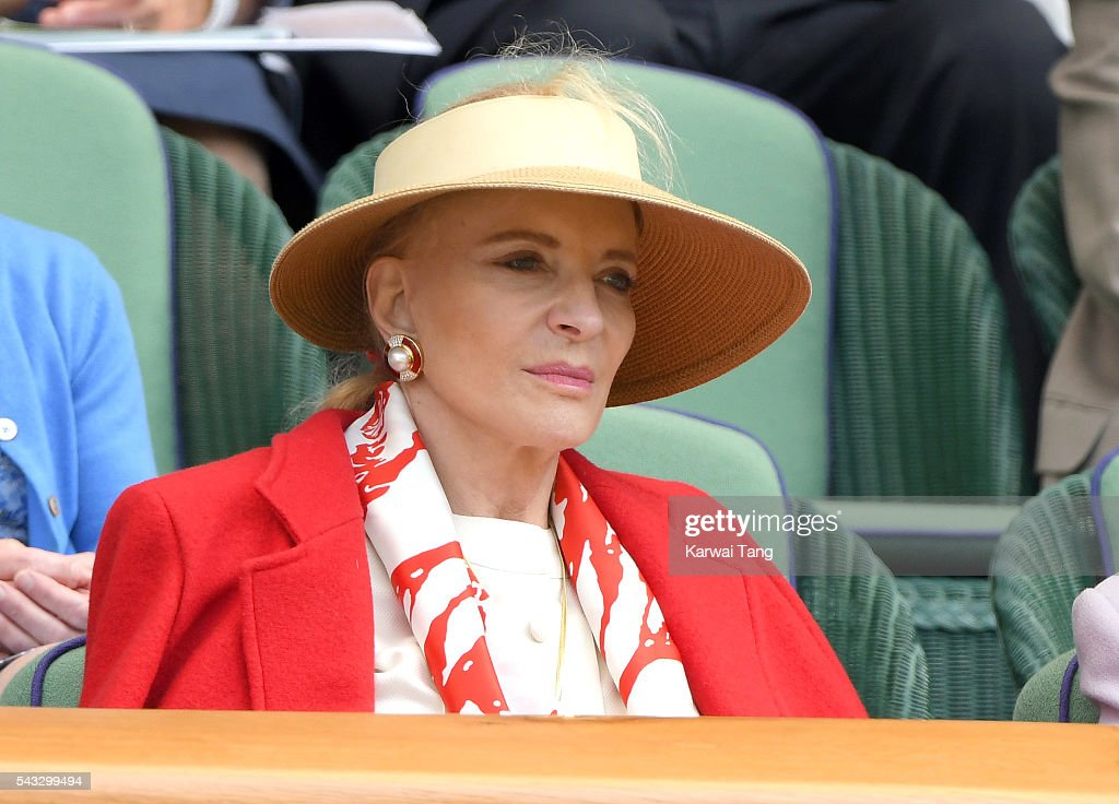 <a gi-track='captionPersonalityLinkClicked' href=/galleries/search?phrase=Princess+Michael+of+Kent&family=editorial&specificpeople=160260 ng-click='$event.stopPropagation()'>Princess Michael of Kent</a> attends day one of the Wimbledon Tennis Championships at Wimbledon on June 27, 2016 in London, England.