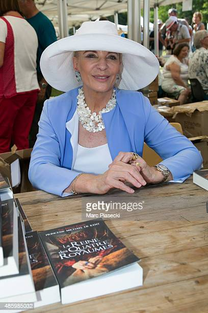Princess Michael of Kent attends the 2Oth 'La Foret des Livres' book fair on August 30 2015 in ChanceauxpresLoches France