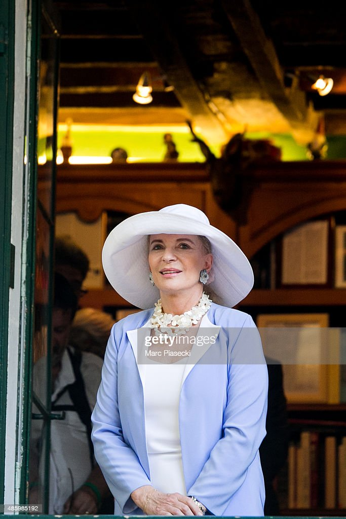 Princess Michael of Kent attends the 2Oth 'La Foret des Livres' book fair on August 30, 2015 in Chanceaux-pres-Loches, France.