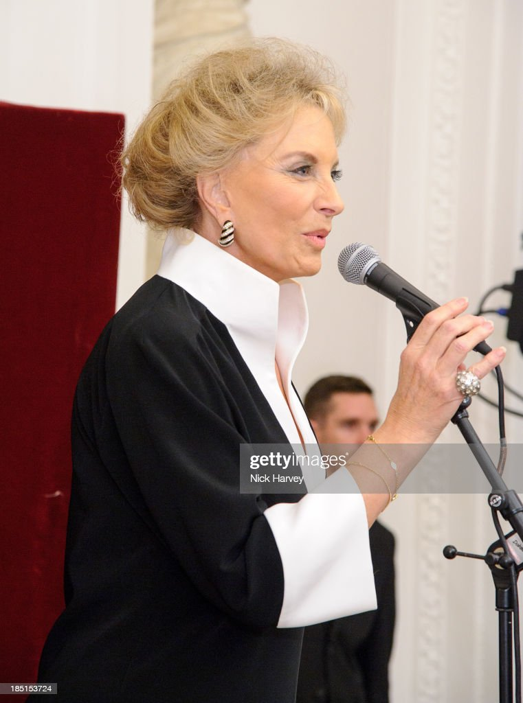 Princess Michael Of Kent attends the book launch party for 'The Queen Of Four Kingdoms' by <a gi-track='captionPersonalityLinkClicked' href=/galleries/search?phrase=Princess+Michael+of+Kent&family=editorial&specificpeople=160260 ng-click='$event.stopPropagation()'>Princess Michael of Kent</a> at The Orangery on October 17, 2013 in London, England.