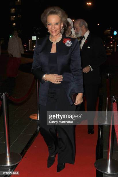 HRH Princess Michael of Kent attends the Chickenshed Gala at Park Plaza Westminster Bridge Hotel on November 8 2010 in London England