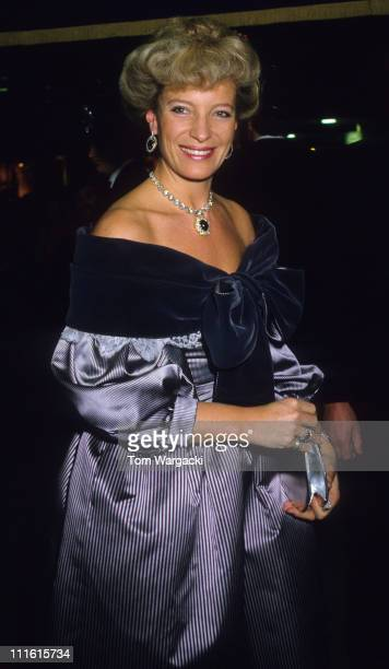 Princess Michael of Kent during Princess Michael of Kent at Charity Dinner 1989 at London in London Great Britain