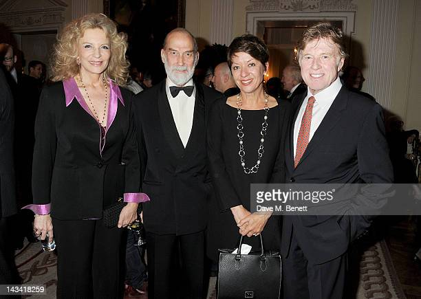 Princess Michael of Kent Prince Michael of Kent Sibylle Szaggars and Robert Redford attend as Robert Redford launches the inaugural Sundance London...