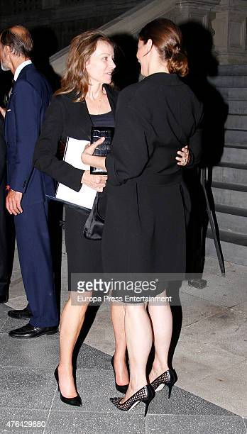Princess Miriam de Ungria and Rosario Nadal attend the memorial service for Prince Kardam of Bulgaria at San Jeronimo el Real church on June 8 2015...