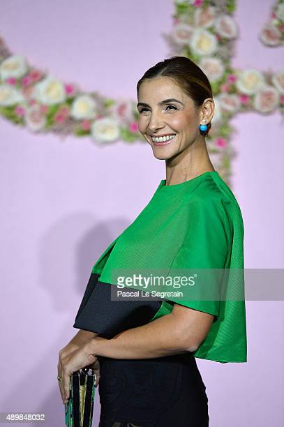 Princess of Savoy Clotilde Courau attends a photocall during The Ballet National de Paris Opening Season Gala at Opera Garnier on September 24 2015...