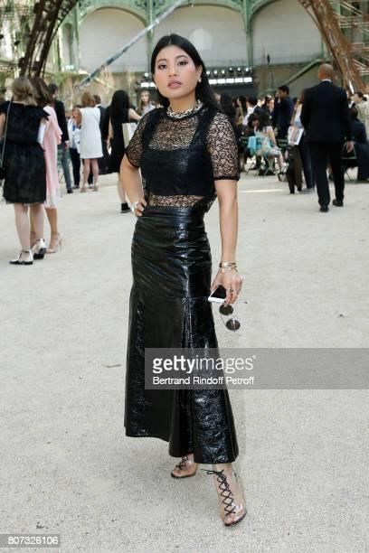 Princess of Thailand Sirivannavari Nariratana attends the Chanel Haute Couture Fall/Winter 20172018 show as part of Haute Couture Paris Fashion Week...