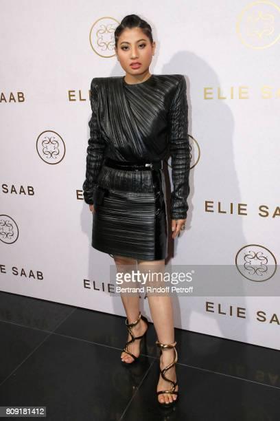 Princess of Thailand Sirivannavari Nariratana attends the Elie Saab Haute Couture Fall/Winter 20172018 show as part of Haute Couture Paris Fashion...