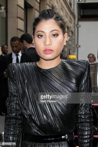 Princess of Thailand Sirivannavari Nariratana attends the Elie Saab Haute Couture Fall/Winter 20172018 show as part of Paris Fashion Week on July 5...
