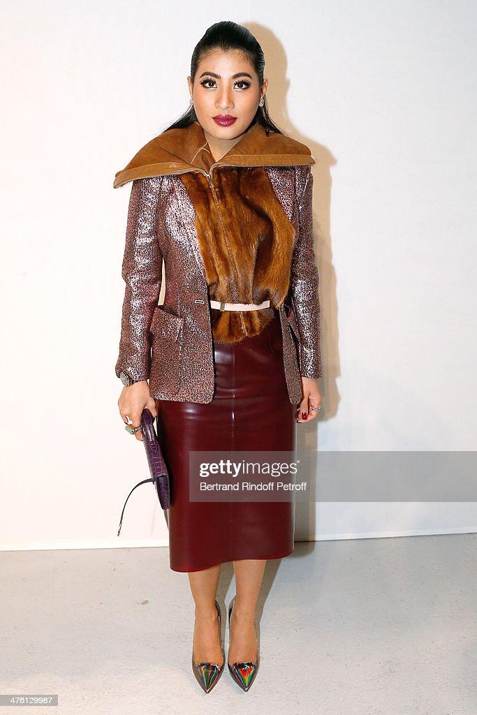 Princess of Thailand Sirivannavari Nariratana attends the John Galliano show as part of the Paris Fashion Week Womenswear Fall/Winter 2014-2015>> on March 2, 2014 in Paris, France.