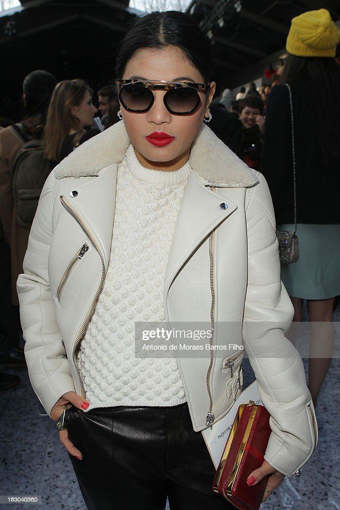 Princess of Thailand Siriwanwaree Nareerat attends the Chloe Fall/Winter 2013 Ready-to-Wear show as part of Paris Fashion Week on March 3, 2013 in Paris, France.