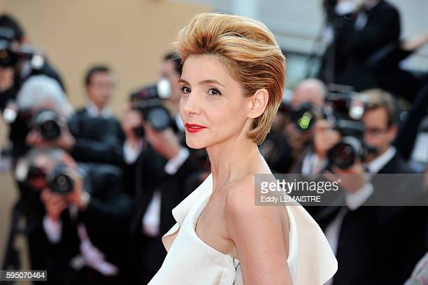 Princess of Venice and Piedmont Clotilde Courau at the premiere of Poetry during the 63rd Cannes International Film Festival
