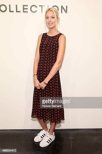 Princess Olympia of Greece attends the Michael Kors Spring 2016 Runway Show during New York Fashion Week The Shows at Spring Studios on September 16...
