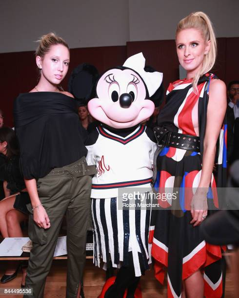 Princess Olympia of Greece Minnie Mouse and Nicky Hilton Rothschild attend the Monse fashion show during New York Fashion Week The Shows on September...