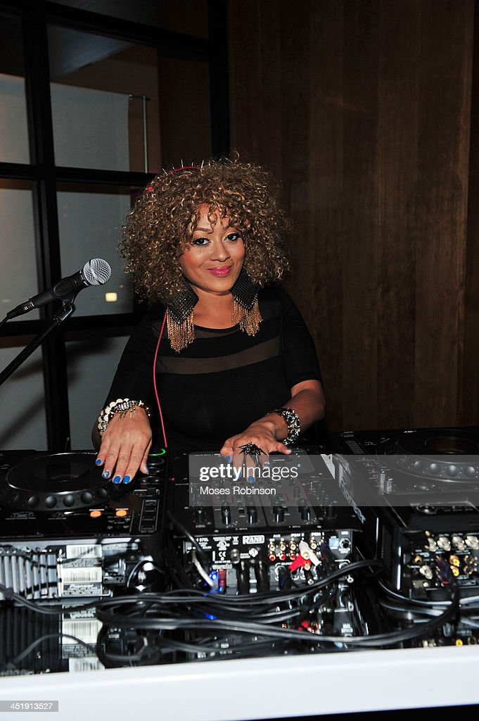 DJ Princess performs at Trey Songz's Birthday And Host Evening Benefitting 'Angels With Heart Foundation Month' at Le Meridien Atlanta Perimeter Hotel on November 24, 2013 in Atlanta, Georgia.