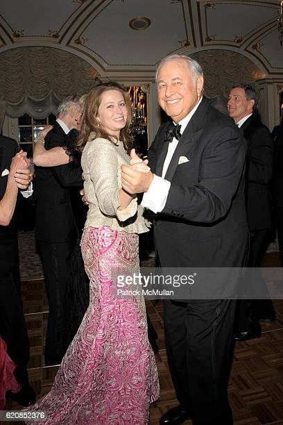 Princess Pierre d'Arenberg and Alfred Taubman attend Venetian Heritage Event Honoring Larry Lovett at St Regis Hotel on March 31 2008 in New York City