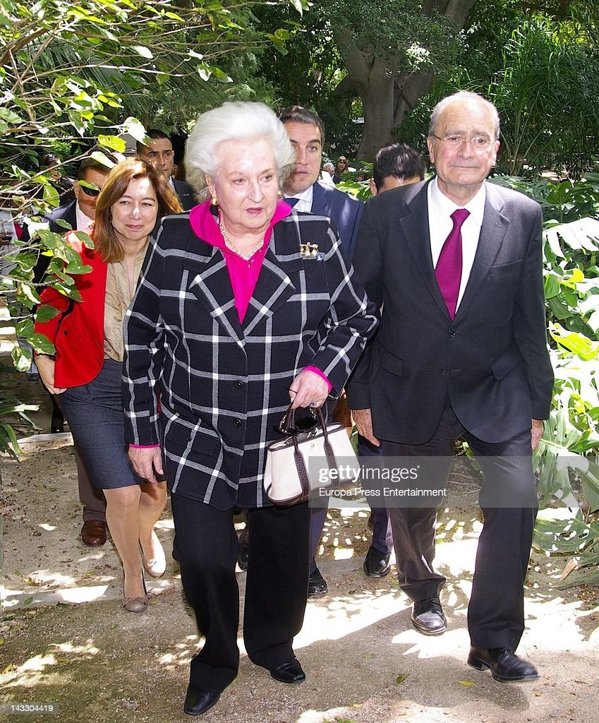 Princess Pilar attends 'Nuevo Futuro' Association 40th anniversary at Concepcion plot of land on April 20, 2012 in Malaga, Spain.