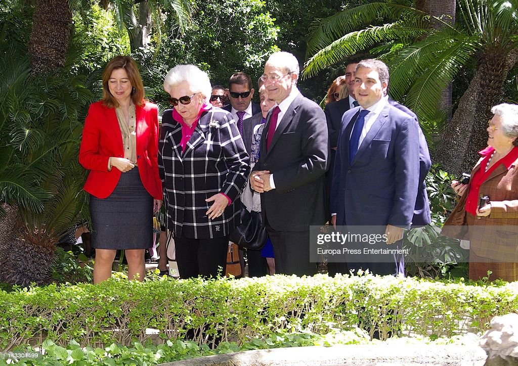 Princess Pilar (2L) attends 'Nuevo Futuro' Association 40th anniversary at Concepcion plot of land on April 20, 2012 in Malaga, Spain.
