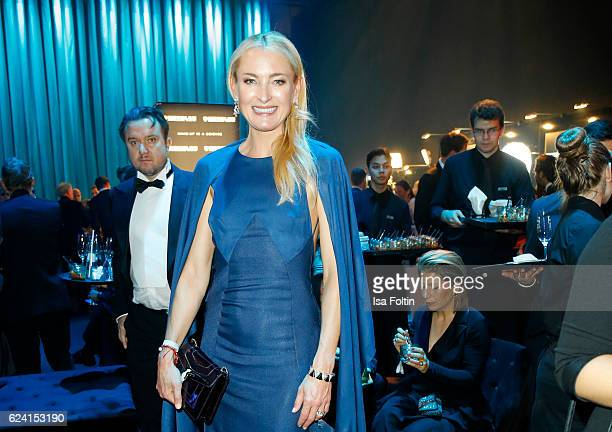 Princess Prinzessin Lilly zu SaynWittgensteinBerleburg poses at the Bambi Awards 2016 party at Atrium Tower on November 17 2016 in Berlin Germany