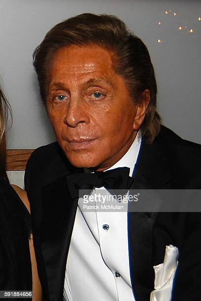 Princess Rosario Nadal of Bulgaria and Valentino Garavani attend Valentino Afterparty at The Double Seven on October 27 2005 in New York City