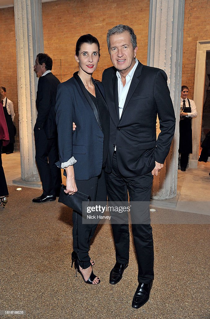 Princess Rosario of Bulgaria and <a gi-track='captionPersonalityLinkClicked' href=/galleries/search?phrase=Mario+Testino&family=editorial&specificpeople=203087 ng-click='$event.stopPropagation()'>Mario Testino</a> attends the VIP opening of The Serpentine Sackler Gallery & Autumn Exhibitions at The Serpentine Sackler Gallery on September 25, 2013 in London, England.